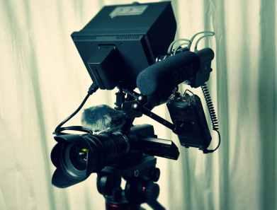 aperture audio blur camcorder